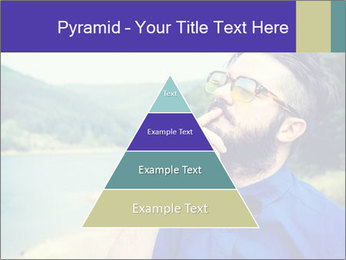 Hipster man thinking PowerPoint Template - Slide 30