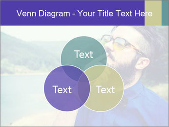 Hipster man thinking PowerPoint Template - Slide 33