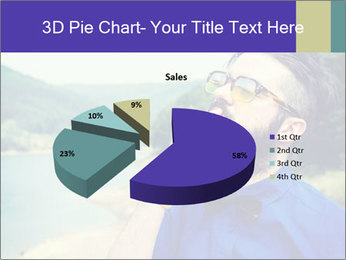 Hipster man thinking PowerPoint Template - Slide 35