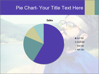 Hipster man thinking PowerPoint Template - Slide 36