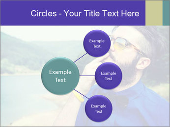 Hipster man thinking PowerPoint Template - Slide 79
