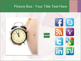 Young pregnant woman PowerPoint Template - Slide 21