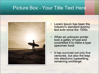 Surfer In Ocean PowerPoint Templates - Slide 13