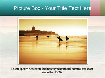 Surfer In Ocean PowerPoint Templates - Slide 15