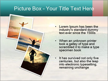Surfer In Ocean PowerPoint Templates - Slide 17