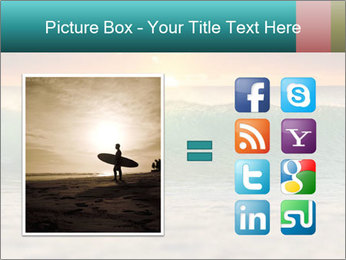 Surfer In Ocean PowerPoint Templates - Slide 21