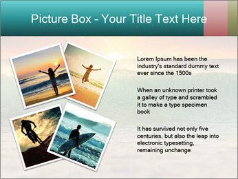 Surfer In Ocean PowerPoint Templates - Slide 23