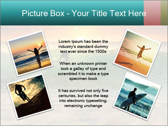 Surfer In Ocean PowerPoint Templates - Slide 24