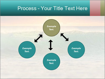 Surfer In Ocean PowerPoint Templates - Slide 91