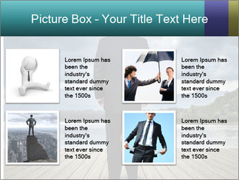 Depresssed Businessman PowerPoint Templates - Slide 14