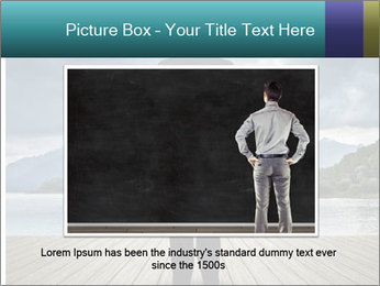 Depresssed Businessman PowerPoint Templates - Slide 16