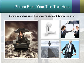 Depresssed Businessman PowerPoint Template - Slide 19