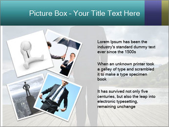 Depresssed Businessman PowerPoint Template - Slide 23