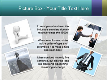 Depresssed Businessman PowerPoint Template - Slide 24