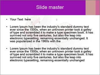 Teeth Implant Model PowerPoint Template - Slide 2