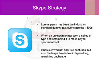 Teeth Implant Model PowerPoint Template - Slide 8
