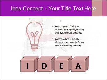 Teeth Implant Model PowerPoint Template - Slide 80