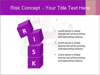 Teeth Implant Model PowerPoint Templates - Slide 81