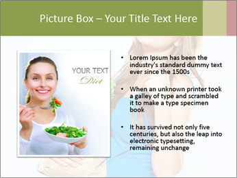 Woman Holding Shopping Bag PowerPoint Template - Slide 13