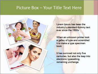 Woman Holding Shopping Bag PowerPoint Template - Slide 23