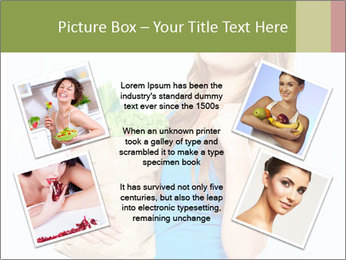 Woman Holding Shopping Bag PowerPoint Template - Slide 24