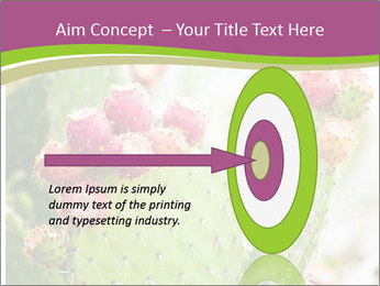 Cactus In Blossom PowerPoint Templates - Slide 83