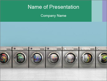 Washing machines PowerPoint Template - Slide 1