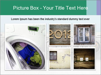 Washing machines PowerPoint Template - Slide 19