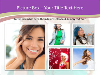 Charming Red-Haired Woman PowerPoint Template - Slide 19