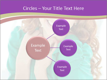 Charming Red-Haired Woman PowerPoint Template - Slide 79