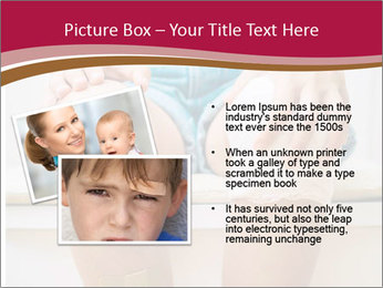 Boy With Injured Knees PowerPoint Templates - Slide 20