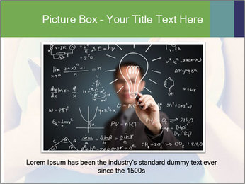 Woman Makes Notes In Notebook PowerPoint Template - Slide 15