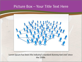 Chairs In Seminar Room PowerPoint Template - Slide 16