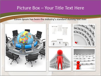 Chairs In Seminar Room PowerPoint Template - Slide 19