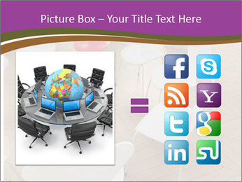 Chairs In Seminar Room PowerPoint Template - Slide 21