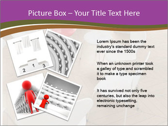 Chairs In Seminar Room PowerPoint Template - Slide 23