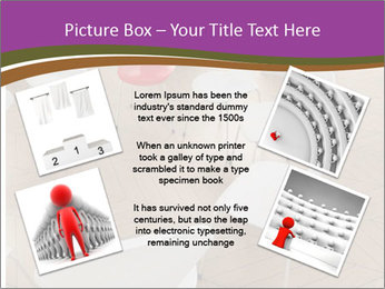 Chairs In Seminar Room PowerPoint Template - Slide 24