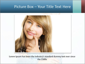 Cute Woman PowerPoint Templates - Slide 15