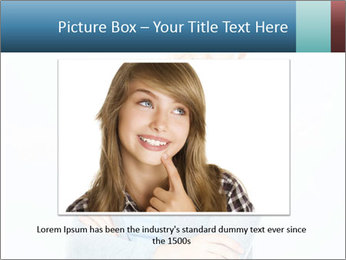 Cute Woman PowerPoint Templates - Slide 16