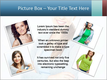 Cute Woman PowerPoint Templates - Slide 24