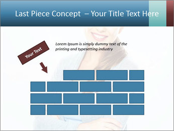 Cute Woman PowerPoint Templates - Slide 46