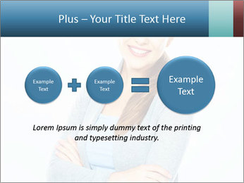 Cute Woman PowerPoint Templates - Slide 75