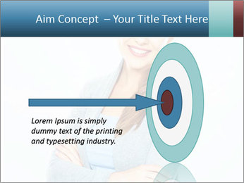Cute Woman PowerPoint Templates - Slide 83