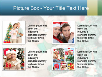 Grandmother And Granddaughter Decorate Christmas Tree PowerPoint Template - Slide 14