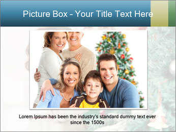 Grandmother And Granddaughter Decorate Christmas Tree PowerPoint Templates - Slide 15