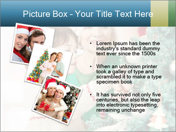 Grandmother And Granddaughter Decorate Christmas Tree PowerPoint Templates - Slide 17