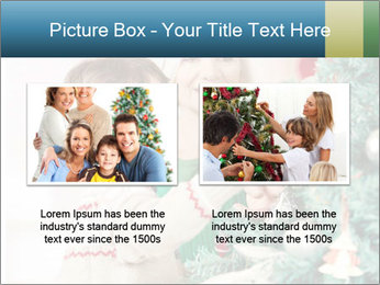 Grandmother And Granddaughter Decorate Christmas Tree PowerPoint Template - Slide 18