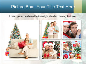 Grandmother And Granddaughter Decorate Christmas Tree PowerPoint Template - Slide 19