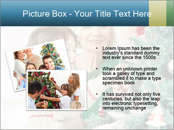 Grandmother And Granddaughter Decorate Christmas Tree PowerPoint Template - Slide 20