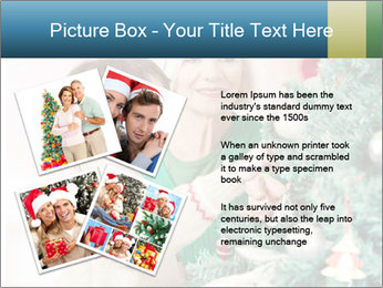 Grandmother And Granddaughter Decorate Christmas Tree PowerPoint Templates - Slide 23